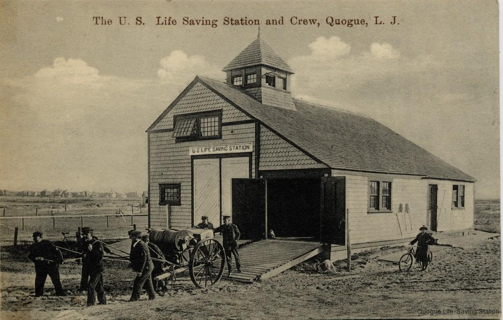 1909 Quogue Station & Crew