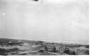 Quogue Beach and Dunes Circa 1900