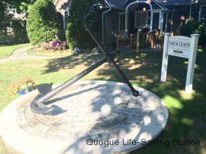 Quogue Library Restores Anchor From Wreck of the NAHUM CHAPIN