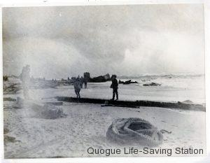 Wreckage of the Augustus Hunt 1/24/1904